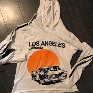 On Fire Medium Los Angeles Long Sleeve Shirt